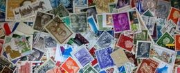 LOTTO DI 1000 MONDIALI USATI (60 Grammi Netti) - Francobolli