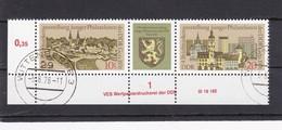 DDR, Nr. 2153/54 ZD DV, Gest. (K 4149i) - DDR