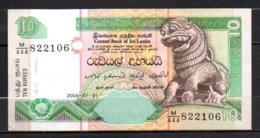 625-Sri Lanka Billet De 10 Rupees 2004 M444 - Sri Lanka