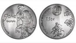 Portugal  7,50euro  Silver  - Desporto Ciclismo Joaquim Agostinho  - 2019  UNC - Portogallo
