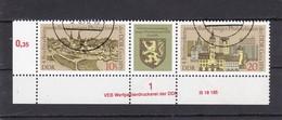 DDR, Nr. 2153/54 ZD DV, Gest. (K 4149j) - DDR