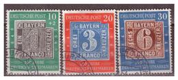Bund  1949, Nr. 113-15, Gestempelt - Gebraucht