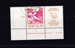 DDR, Nr. 1761/Zf ZD DV, Gest. (K 4149k) - DDR