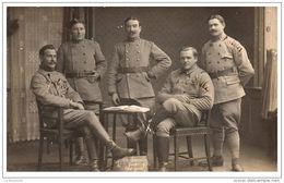 MILITARIA - 14-18 - CARTE PHOTO - Militaires Du 1er C.A.C - War 1914-18