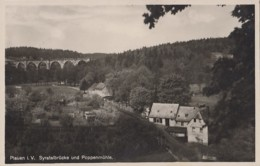 Allemagne - Plauen Im Vogtland - Syratalbrücke Und Poppenmühle - Moulin à Eau Architecture - Vogtland