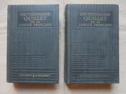 Ancien - 2 Dictionnaires QUILLET De La Langue Française E-O / P-Z 1959 - Dictionnaires