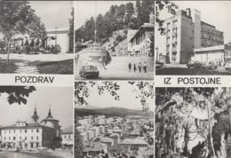 Slovénie - Pozdrav Iz Postojne - Postojna - Automobile - Grottes - Slovenia