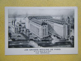 PARIS. Les Grands Moulins De Paris. 59 à 71 Quai De La Gare. - Arrondissement: 13