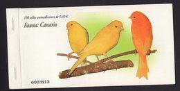 España 2007. Caratula Talonario Carnet Sin Sellos. Canario. Birds. Ed 4302. MNH. **. - 1931-Hoy: 2ª República - ... Juan Carlos I