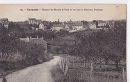 VERNEUIL SUR SEINE - Chemin Du Moulin à Vent Et Vue Sur Le Hameau. Paysage - Verneuil Sur Seine
