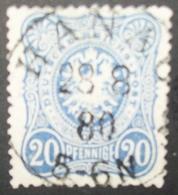 N°965 TIMBRE DEUTSCHES REICH OBLITERE AVEC SIGNATURE - Deutschland
