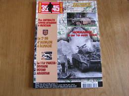 HISTORICA Hors Série N° 92 Guerre 40 45 Normandie 1944 De Mortain à Argentan 2 DB Alençon Panzer Division Falaise - Guerra 1939-45