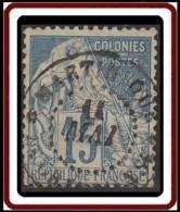 Colonies Générales - N° 51 (YT) N° 51 (AM) Oblitéré De La Grande-Anse / Martinique. - Alphée Dubois
