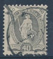 HELVETIA - Mi Nr 91 D - Gest./obl. - Cote 65,00 € - (ref. 1525) - Gebraucht