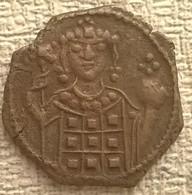 Manuel I 1143-1181. AD Half-Tetarteron. (17mm, 1,59g). Uncertain Greek Mint - Byzantine