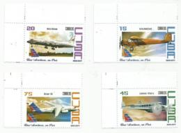 Cuba 2014 85th Anniversary Of Cubana Airlines 4v MNH - Nuevos