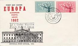 FDC PREMIER JOUR EUROPA 1962 Irlande - Europa-CEPT