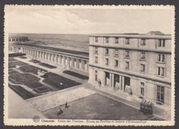 104686/ OOSTENDE, Palais Des Thermes, Entrée Du Pavillon Et Galerie D'Embouteillage - Oostende