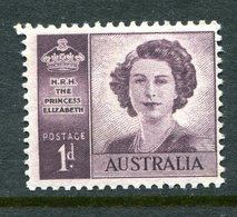 Australia 1947 Marriage Of Queen Elizabeth II - Wmk. MNH (SG 222) - Mint Stamps