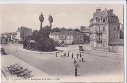 LUNEVILLE - Rond-point De La Gare - Luneville