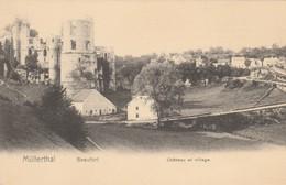 Mullerthal , Beaufort , Chateau Et Village ( Nels , Metz , Série 6 ,n° 41) - Muellerthal