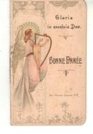 """Petite Brochure 5 Pages  Gloria  In Excelsis Déo         """"Bonne Année"""" Par Le Père Charles Laurent S M - Andachtsbilder"""