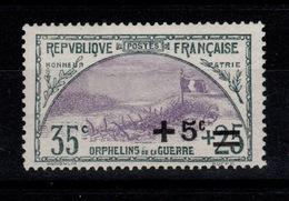YV 166 N** 2eme Orphelins Tres Bien Centré Cote 35+ Euros - Francia