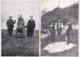 09. Gf. ERCE. Montreurs D'ours. 2 Cartes - Frankreich