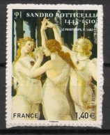 France - 2010 - N°Yv. A509 - Botticelli - Autocollant - Neuf Luxe ** / MNH / Postfrisch - Adhésifs (autocollants)