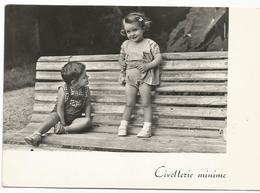 W3527 Bambini - Enfants - Children - Kinder - Nino - Humor Houmor - Civetterie Minime / Viaggiata 1960 - Cartoline Umoristiche