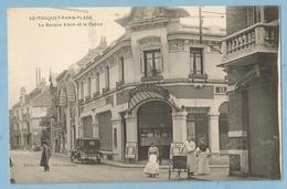 A100  CPA   LE TOUQUET-PARIS-PLAGE (Pas De Calais)  La Banque ADAM Et Le Casino  +++++ - Le Touquet