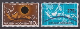 Indonesie 1153-1154 MNH ; Zonsverduistering, Solar Eclips 1983 NOW MANY CHEAP STAMPS INDONESIA - Astrologie