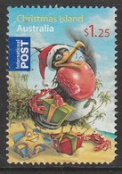 Christmas Island 2009 Christmas $1.25 Multicoloured  SW 655 O Used (Blunt Corner) - Christmas Island