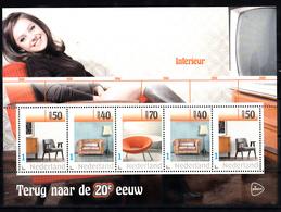 """Nederland 2019 Persoonlijke: Thema """"terug Naar De 20e Eeuw"""": Interieur, Stoel, Bank - 2013-... (Willem-Alexander)"""