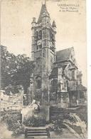 GOUSSAINVILLE . VUE DE L'EGLISE ET DU MONUMENT . CARTE NON ECRITE - Goussainville