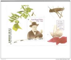 Bloc N° 4980, Jean Henri Fabre , Neuf - Sheetlets