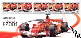 Gibraltar  Block 2000 Formel 1 Ferrari **/MNH - Automobilismo
