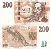 CZECH REPUBLIC       200 Korun       P-New       2018       UNC - Czech Republic