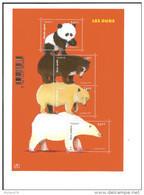 Bloc N° 4844 ,  Les Ours - Sheetlets