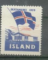 ISLAND CINDERELLAS - SKATAMERKI 1959 (#5115) - Viñetas De Franqueo (Frama)