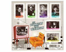 Bloc N° 4811, Les Pionniers De La Télé - Sheetlets