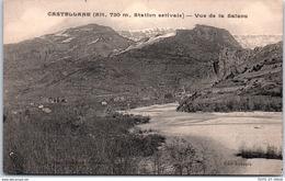 04 CASTELLANE - Vue De La Salaou - Castellane