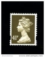 GREAT BRITAIN - 1993  MACHIN  41p.  PCP  MINT NH  SG Y1713 - Série 'Machin'