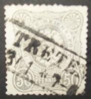N°975 TIMBRE DEUTSCHES REICH OBLITERE AVEC SIGNATURE - Gebraucht