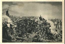 """4470 """"DIFESA DI ROMA-1849 (MUSEO RISORGIMENTO)""""-CARTOLINA  POST.ORIG. NON SPED - Militari"""