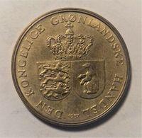 GROENLANDIA 1 CORONA 1957 - Groenlandia