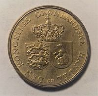 GROENLANDIA 1 CORONA 1957 - Groenland
