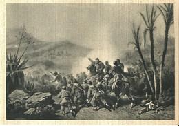 """4471 """"COMBATTIMENTO DI CALATAFIMI-15 MAGGIO 1860 (MUSEO RISORGIMENTO)""""-CARTOLINA  POST.ORIG. NON SPED - Militari"""