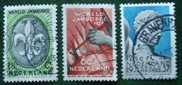 Wereld Jamboree Vogelenzang NVPH 293-295 (Mi 301-303) 1937 Gestempeld / USED NEDERLAND / NIEDERLANDE - Gebraucht