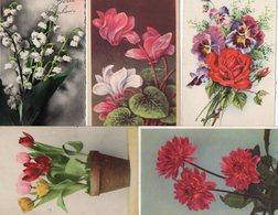 FLEURS...BOUQUETS........LOT DE 48 CPSM..........VOIR SCAN.....LOT 56 - Flowers